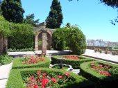 The Alcazaba gardens