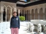 Simon at the Alhambra