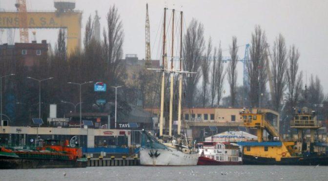 """sts """"Kapitan Borchardt"""" w Szczecinie"""