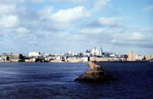 Wejscie do Montevideo