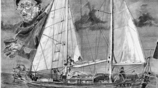 Rysunki R.Gardysa poświęcone Ludomirowi Mączce i Marii