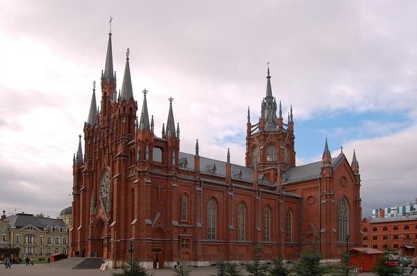 Картинки по запросу Римско-католический кафедральный собор на Малой Грузинской