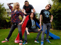 Justin Hawkins names new band Hot Leg, sounds like The Darkness