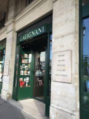 Galignani at Rue de Rivoli