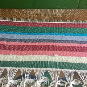 Weaving at Elafotopos