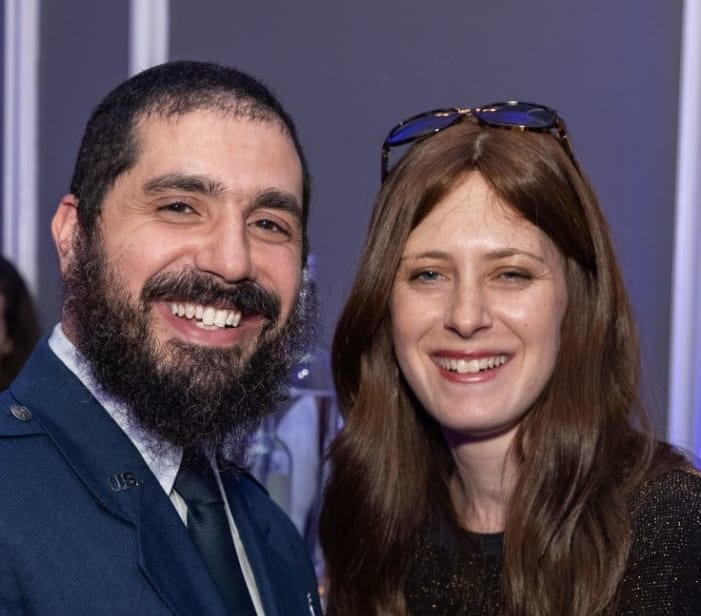 Elie and Chaya Rochel Estrin