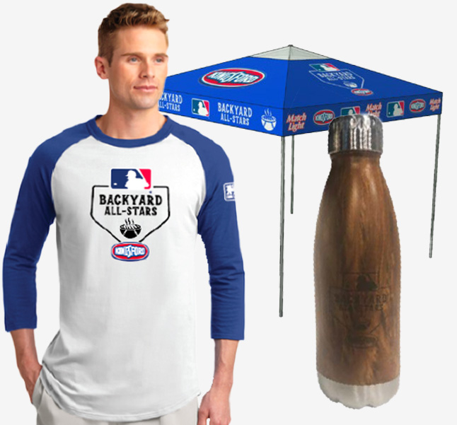 Kingsford MLB promo items