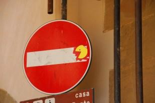 Clet Abraham Street Art Florència 4