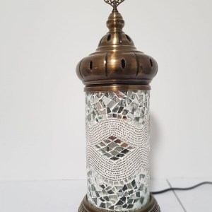 Lampe cylindrique XXL blanche