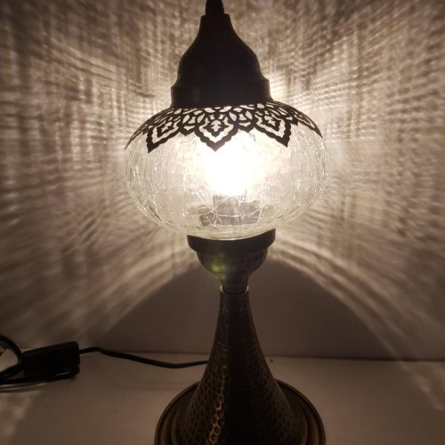 Lampe de table allongée Ottoman