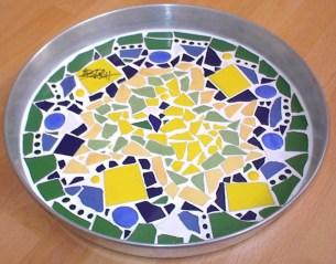 Mosaik - Tablett
