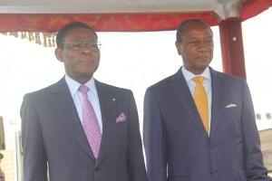 LE PRESIDENT EQUATO-GUINEEN EN GUINEE