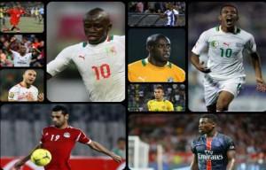 Finalistes ballon d'or africain
