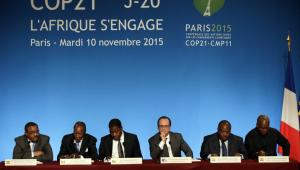 Holl et chefs d'Etats africains