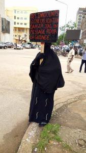 Femme burqa