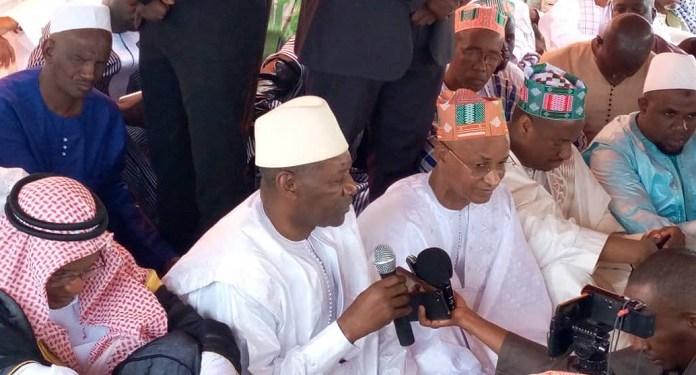 Aïd-el-Kébir à Labé : les vœux et conseils du gouverneur Madifing Diané à Cellou Dalein Diallo