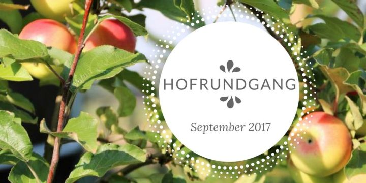Hofrundgang September – Es ist wohl Herbst geworden