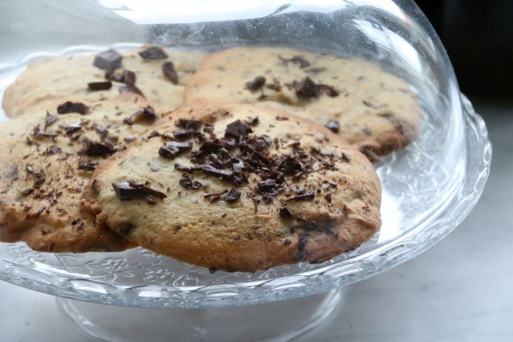 Schoko Cookies von der schnellen Sorte