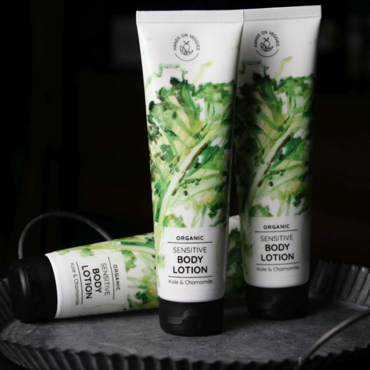 Bodylotion Kale & Camomille (Hands on Veggies)