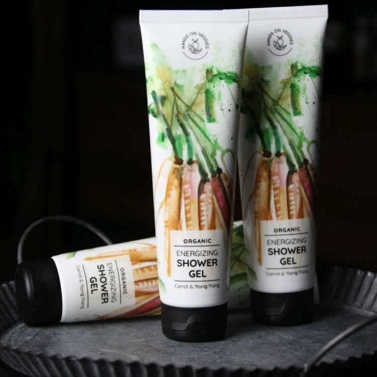 Duschgel Karotte & Ylang Ylang (Hands on Veggies)