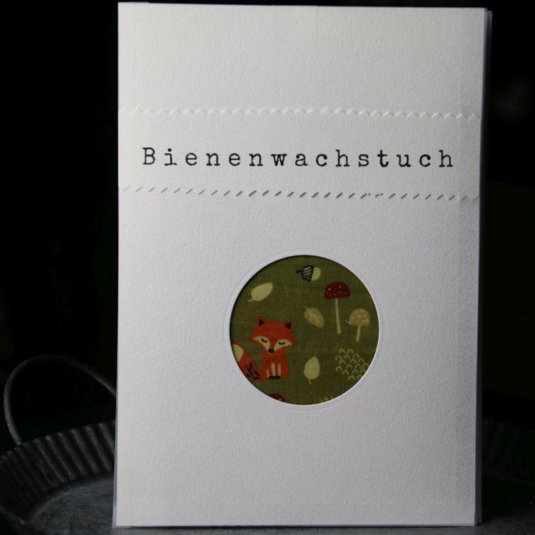 Bienenwachstuch Fuchs (M)