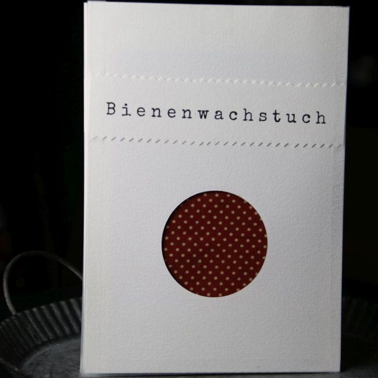 Bienenwachstuch Red Dots (M)