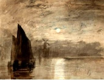 Moonlight de Turner. Comment avoir une aquarelle au top