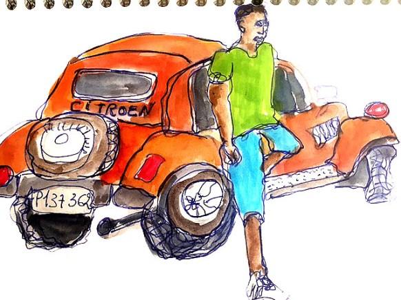 La Havane Cuba. Cours et stages de dessins à Paris