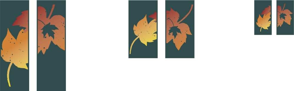 Fall Double Banner