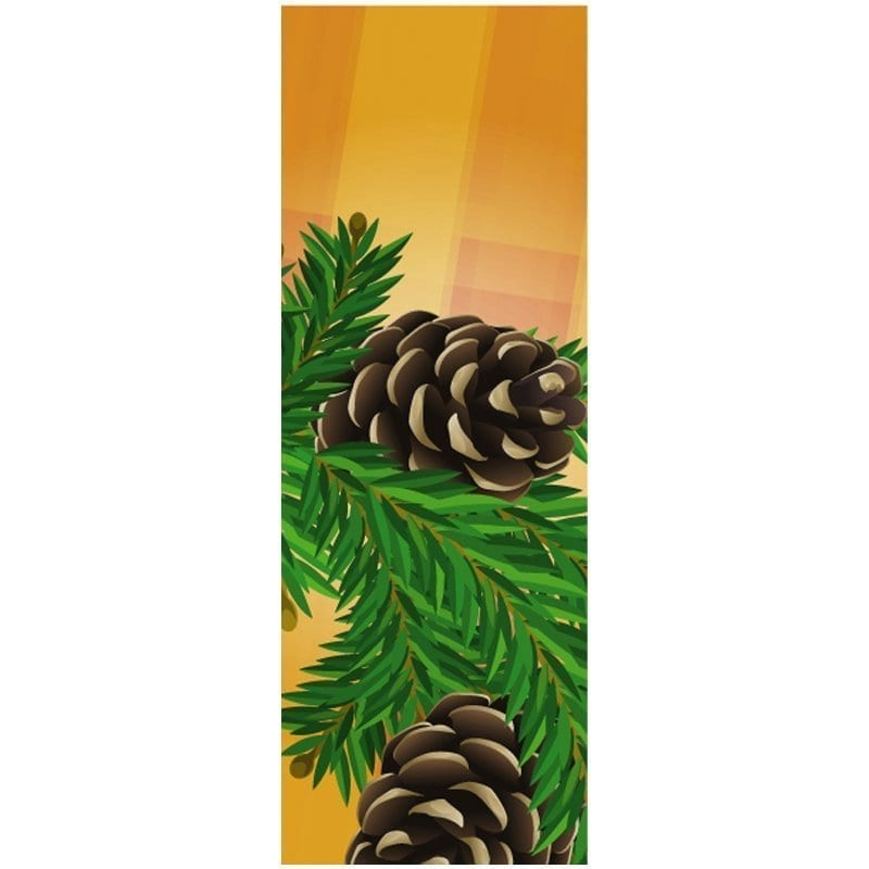 10D963 fall winter holiday banner