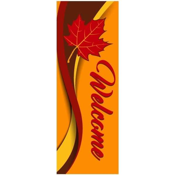 16D836-C fall winter holiday banner