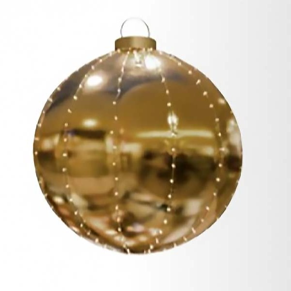 Giant Lighted Hanging Ornament