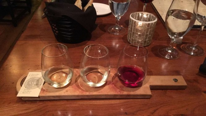 Gervasi Vineyard Wine Flight