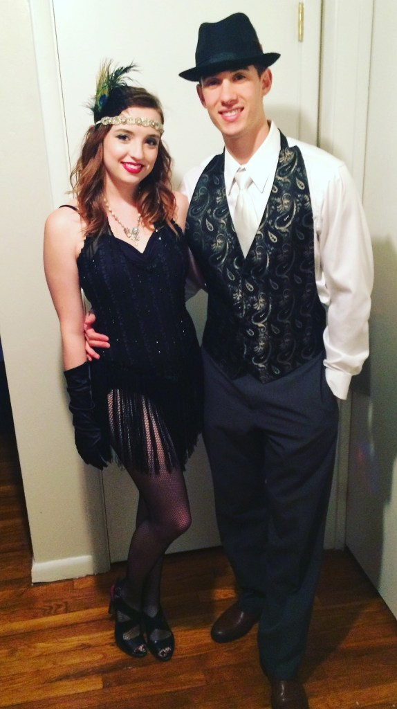20's couple halloween costume