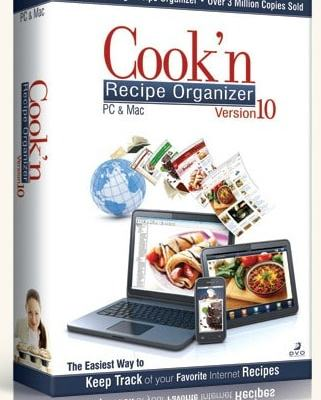 Cook'n Recipe Organizer Software #Giveaway