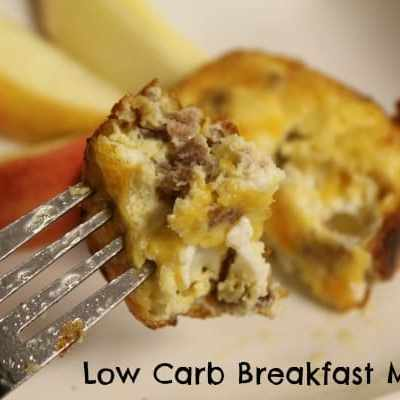 Low Carb Breakfast Muffins Recipe