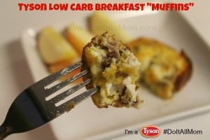 tyson low carb breakfast muffin recipe