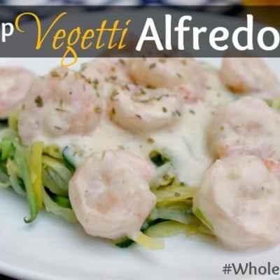 Shrimp Vegetti Alfredo Whole30