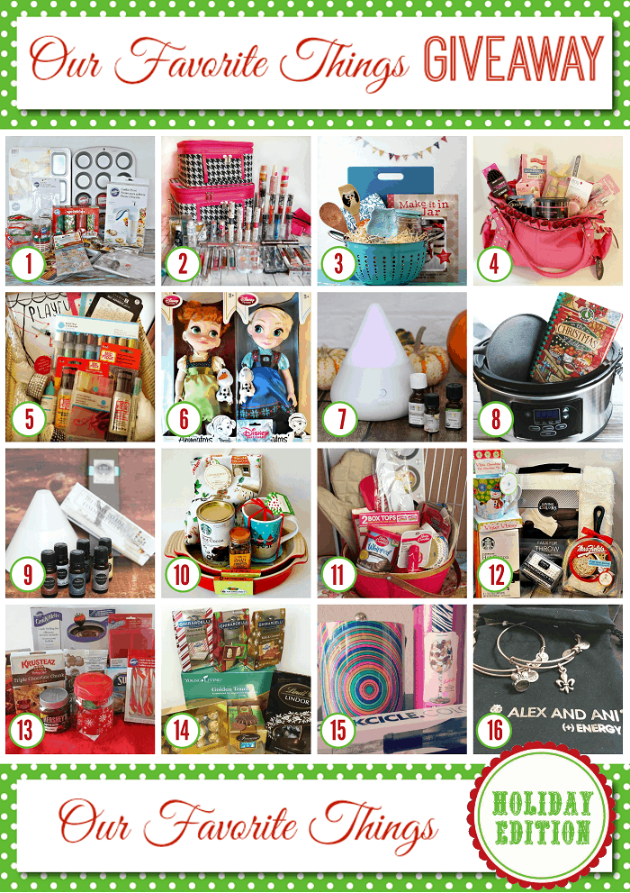 Favorite Things Giveaway - Holiday 2014 700
