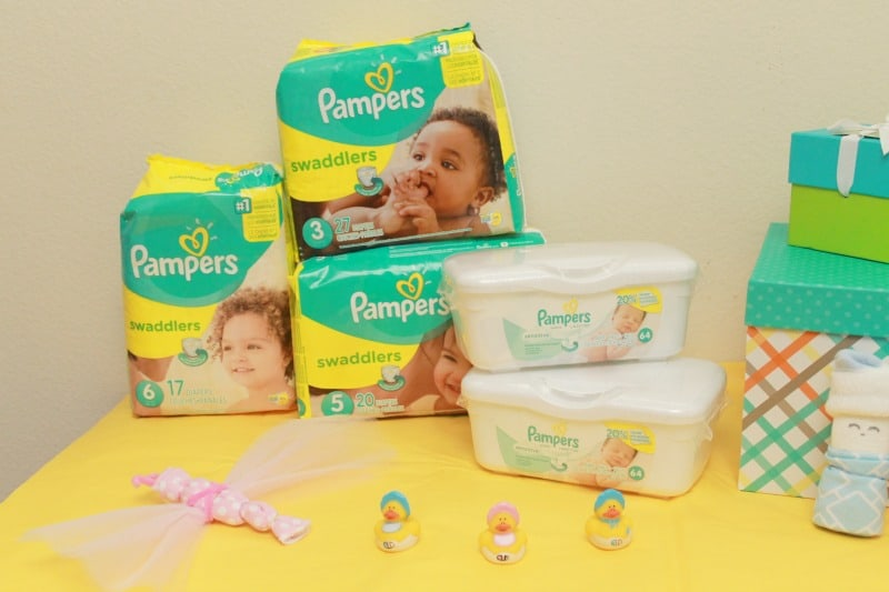 pampers products
