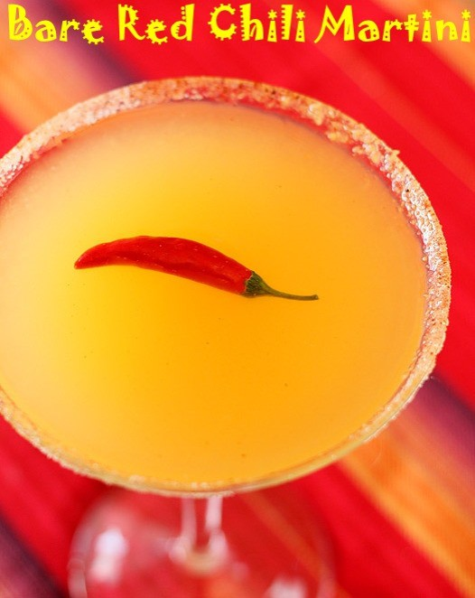 bare red chili martini recipe