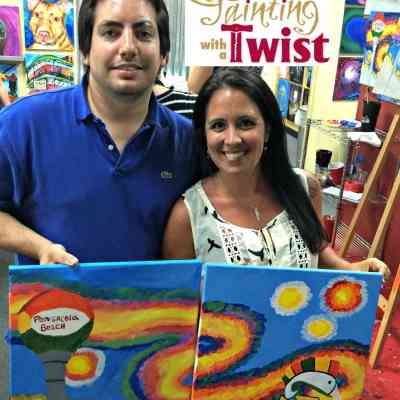 Painting With A Twist – Pensacola Pride