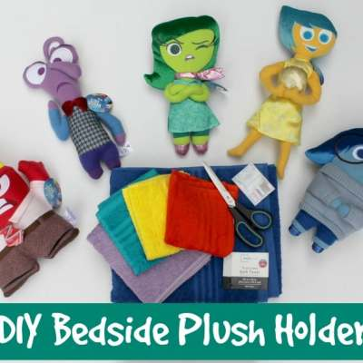 DIY Bedside Plush Holder Inspired by Inside Out