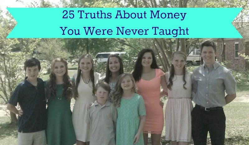 25 Truths About Money You Were Never Taught