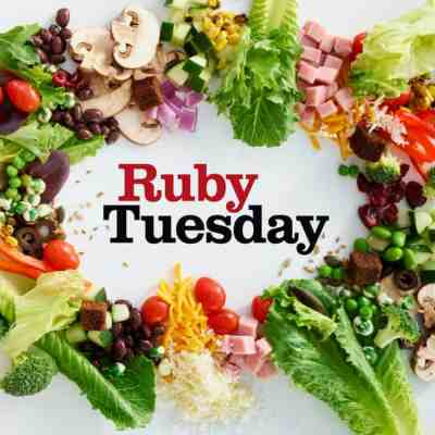 New Endless Garden Bar at Ruby Tuesday