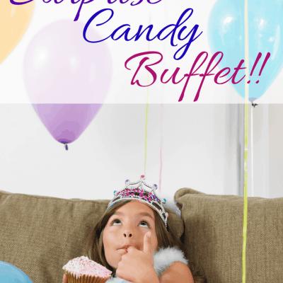 Children's Party Surprise – A Candy Buffet!