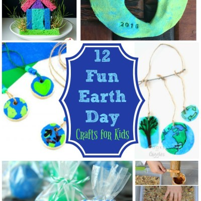 12 Earth Day Crafts for Kids