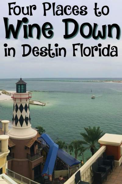 Wine Down in Destin Florida