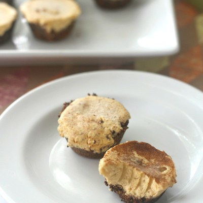 Mini Pumpkin Keto Cheesecake