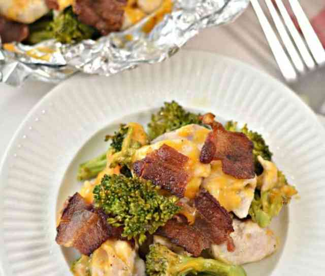 Cheesy Bacon Ranch Chicken Foil Packet